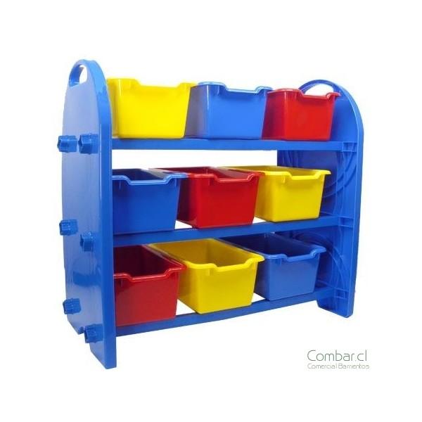 Mueble organizador plástico
