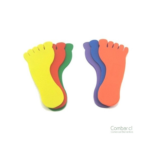 Huellas de pies para imprimir - Imagui